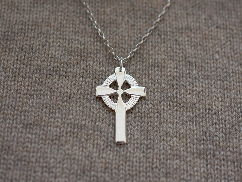Silver Welsh Cross Pendant