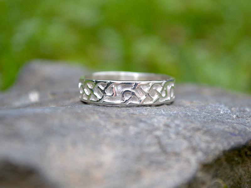 A picture of 'Silver Celtic Knotwork Ring''