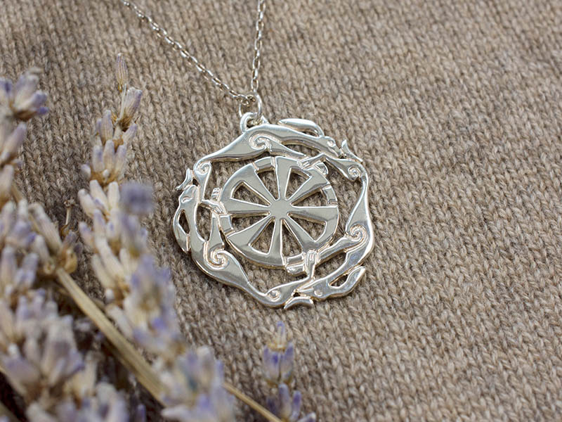 Silver Melangell Pendant