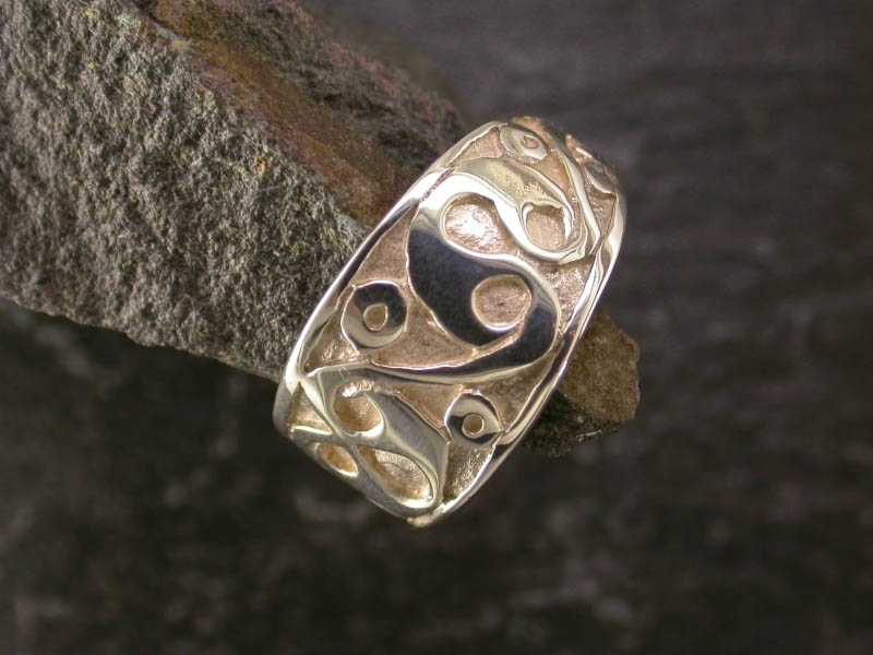 A picture of 'Silver LaTene Ring''