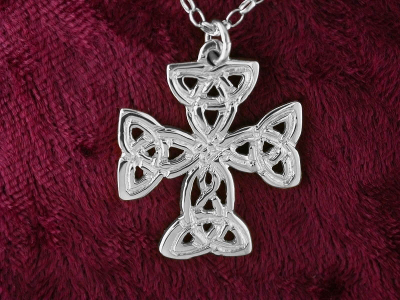 A picture of 'Silver St Patrick Cross Pendant''