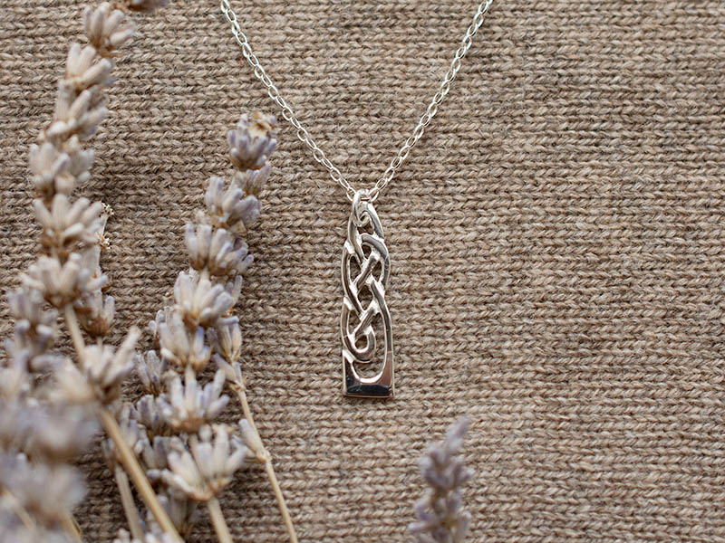 A picture of 'Silver White Wheat Pendant''
