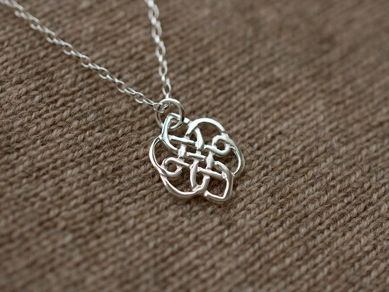 A picture of 'Silver Morris the Wind Pendant''