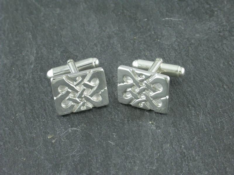 A picture of 'Silver Llywelyn Cufflinks''