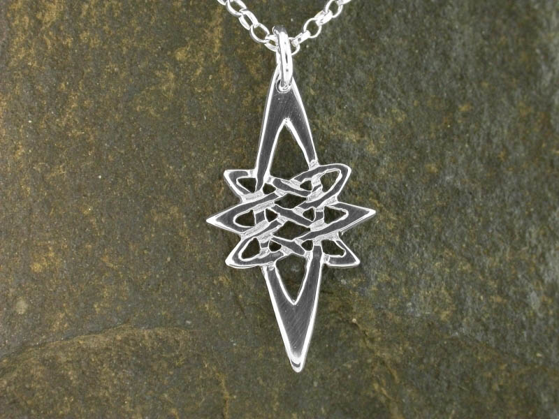 A picture of 'Silver Star Pendant''