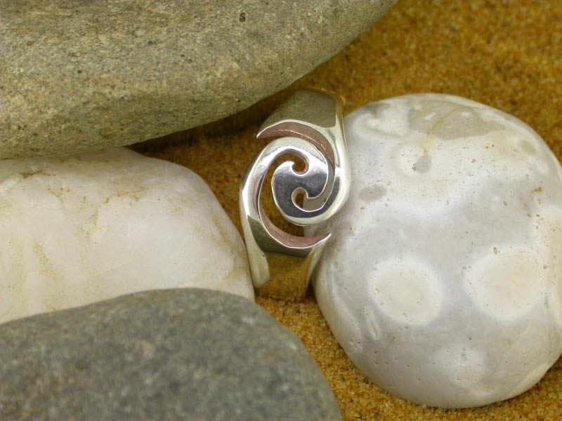 A picture of 'Silver Breakers Ring''