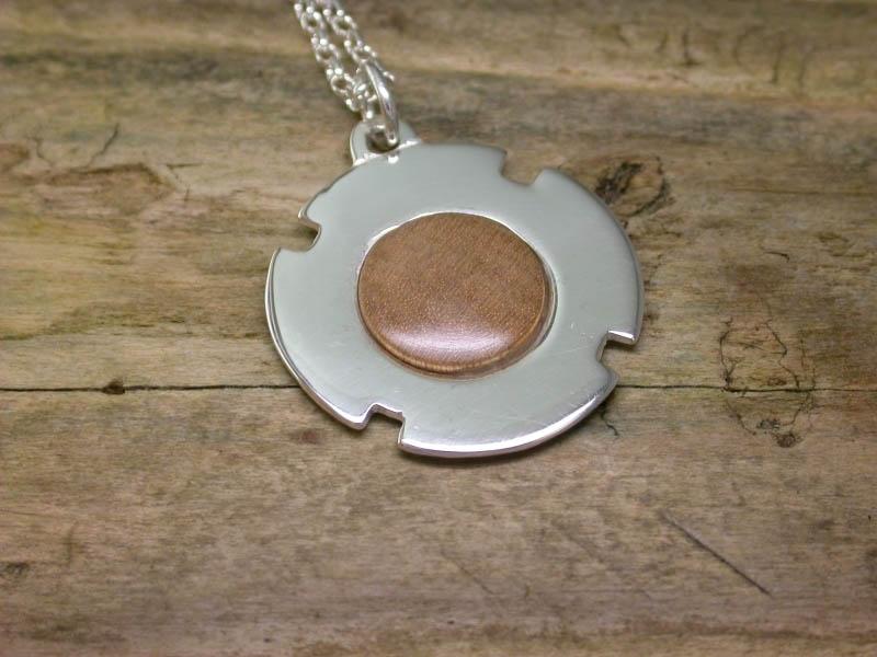 A picture of 'Silver Cilmeri Silver Pendant''