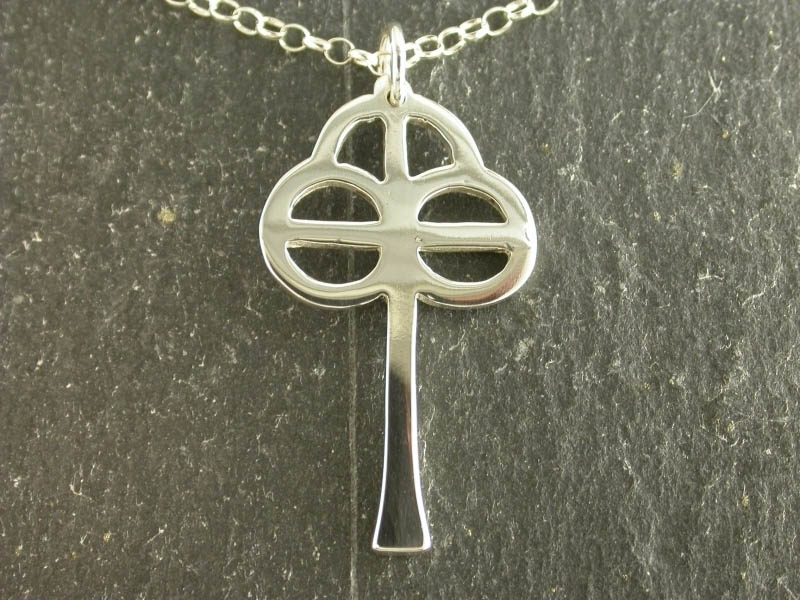 A picture of 'Silver St Caron Cross Pendant''