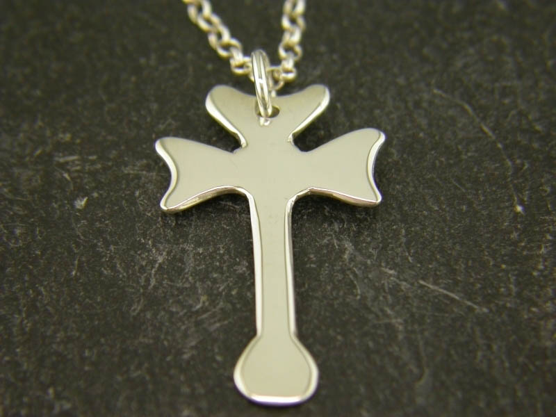 A picture of 'Silver St Cadfan Cross Pendant''