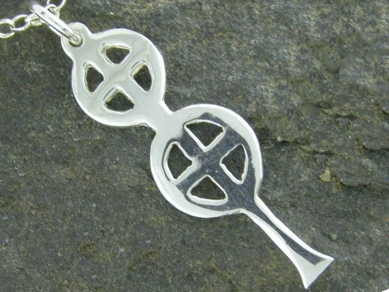 A picture of 'Silver St Berian Cross Pendant''
