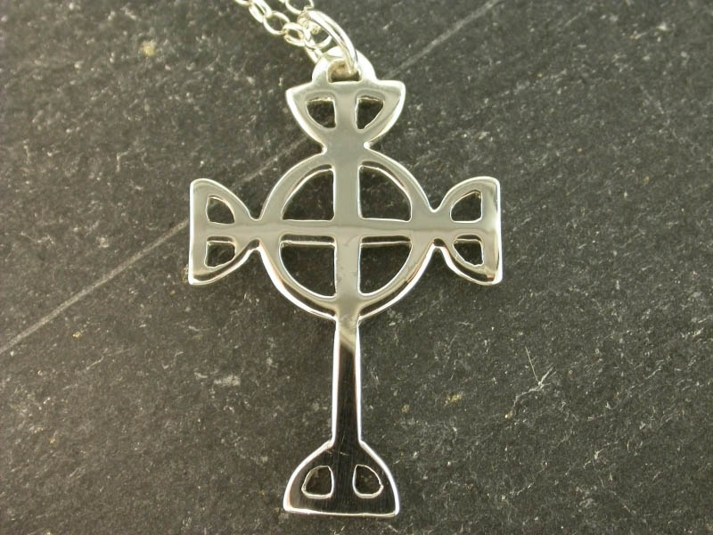 A picture of 'Silver St Tydfil Cross Pendant''