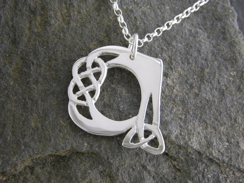 A picture of 'Silver Pendant - Initial A''
