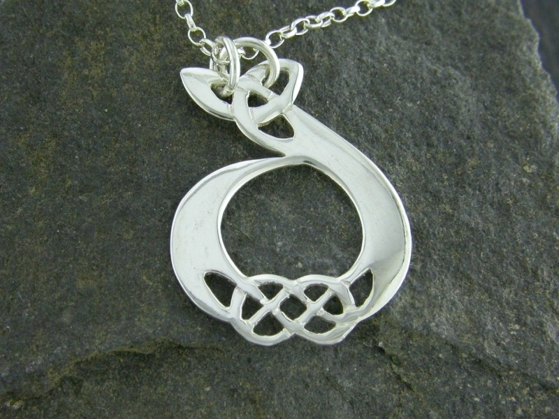 A picture of 'Silver Pendant - Initial D''
