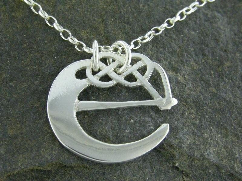 A picture of 'Silver Pendant - Initial E''