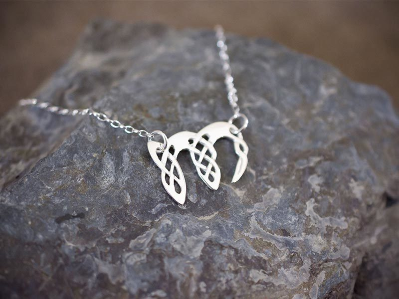 A picture of 'Silver Pendant - Initial M''