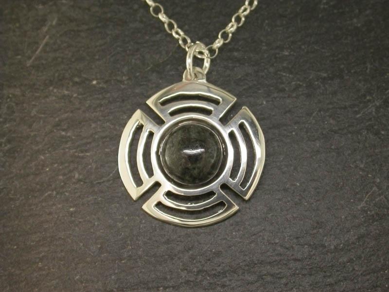 A picture of 'Silver Preseli Planetary Pendant''