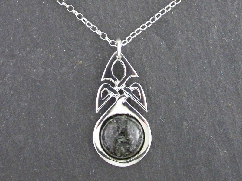 A picture of 'Silver Preseli Knotwork Pendant''