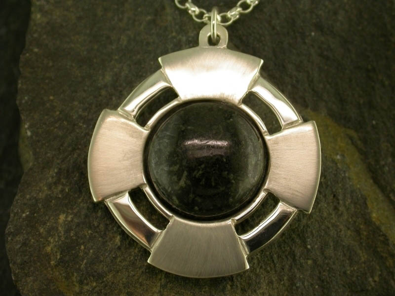 A picture of 'Silver Preseli Cross Pendant''