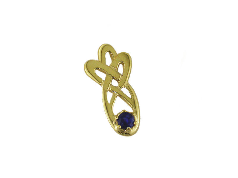 A picture of '18ct Rhiannon Welsh Gold Mererid Pendant''